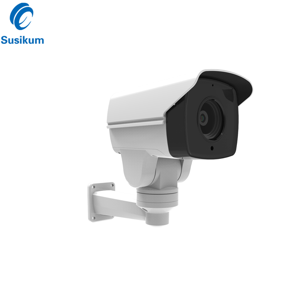 2MP 10X Optical Zoom Outdoor PTZ IP Camera POE 5.1-51mm Motorized Lens Waterproof ONVIF Security Bullet IP Camera 1080P image