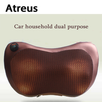 Atreus Car Styling 1pcs Protect Neck 4 8 Balls Massage Pillows For Ford Focus 2 3