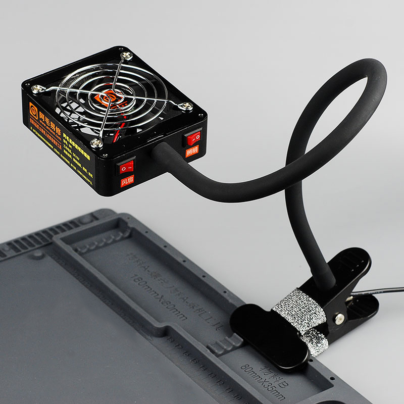 aspiratore di fumo a doppio scopo di illuminazione del fumo di - Attrezzatura per saldare - Fotografia 4