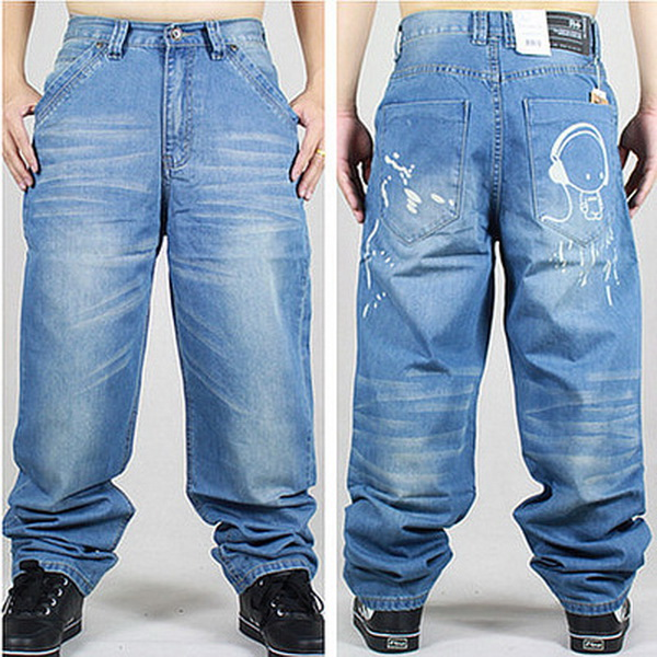 Big Mens Designer Jeans