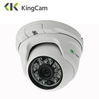 Kingcam金属抗バンダルpoe ipカメラ2.8ミリメートルレンズ広角1080 p 960 p 720 pセキュリティonvif cctv監視6ミリメートルドームipカム