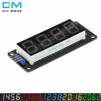 TM1637 4-Digit LED 0.56 Inch Display Tube 7 Segments Blue Yellow White Green Red Clock Double Dots Module For Arduino Board