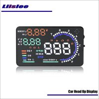 Liislee Car Head Up Display Reflecting Overspeed Car Informations On the Windshield Saft Driving Screen Projector OBD2 Connector