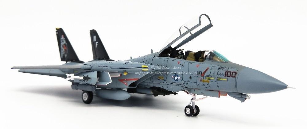 Boutique 1: 72 Estados Unidos F 14A marítimo luchador de aleación de modelo de avión VF 154 equipo modelo de recogida-in Troquelado y vehículos de juguete from Juguetes y pasatiempos    3