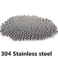 200pcs Stainless Steel Ball Industrial Accessories 1mm 2mm 2.381mm 2.5mm 2.778mm Waterproof Excellent Sliding Performance|Bearings| |  -