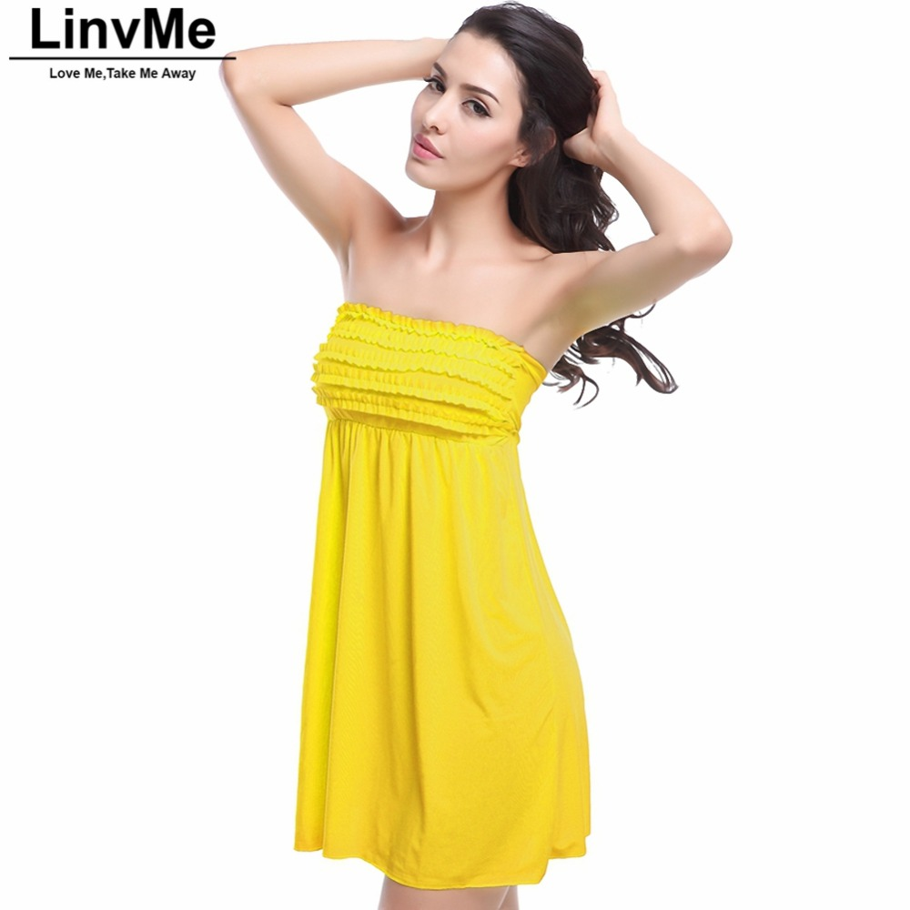 Linvme 2018 Cover-ups Women Overskirt Beach Cover Up Sexy Floral Beach Solid Color Beach Robe Tunic Sarong Bathing Suit