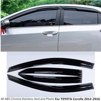Free Shipping For Toyota Camry 2015 Car Styling Cover Detector Back Rear Tail ABS Door Gate