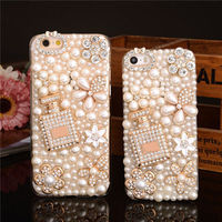 Hot Bling Shine Diamante Shaped Diamond Stones Crystal Luxury Hard Phone Cover For Iphone 7 7Plus