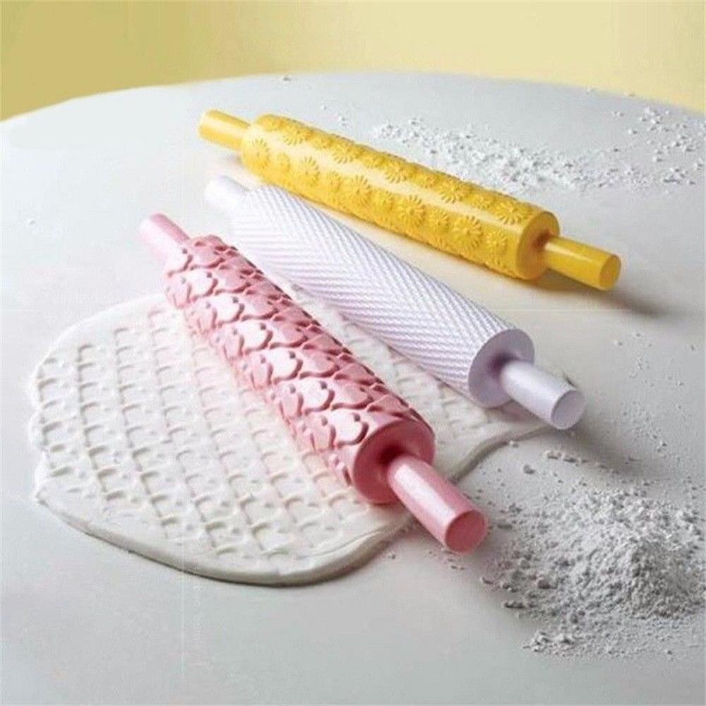 Embossing Rolling Pin Baking Tool 14 Pattern