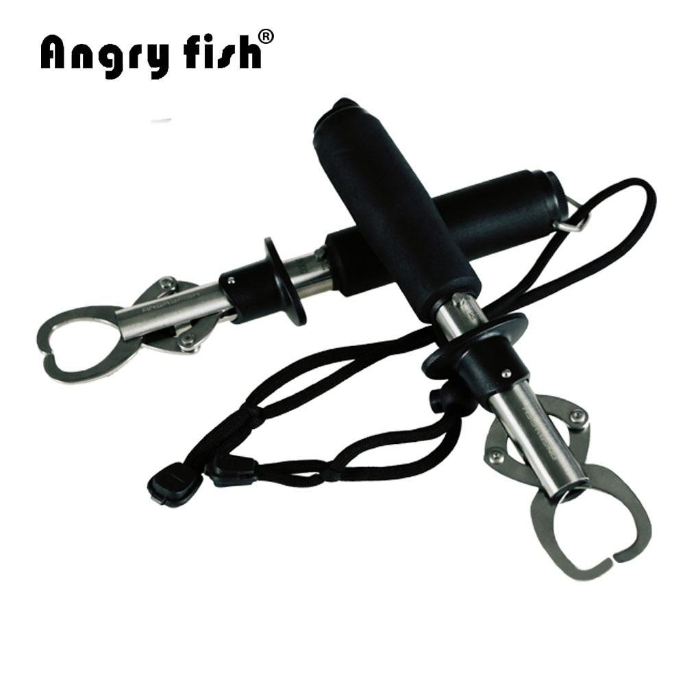 Angrufish K1 Portable Metal Aluminium Fish Grip Fish Holder Catch And Release Durable Lock Accessories Fish Grip