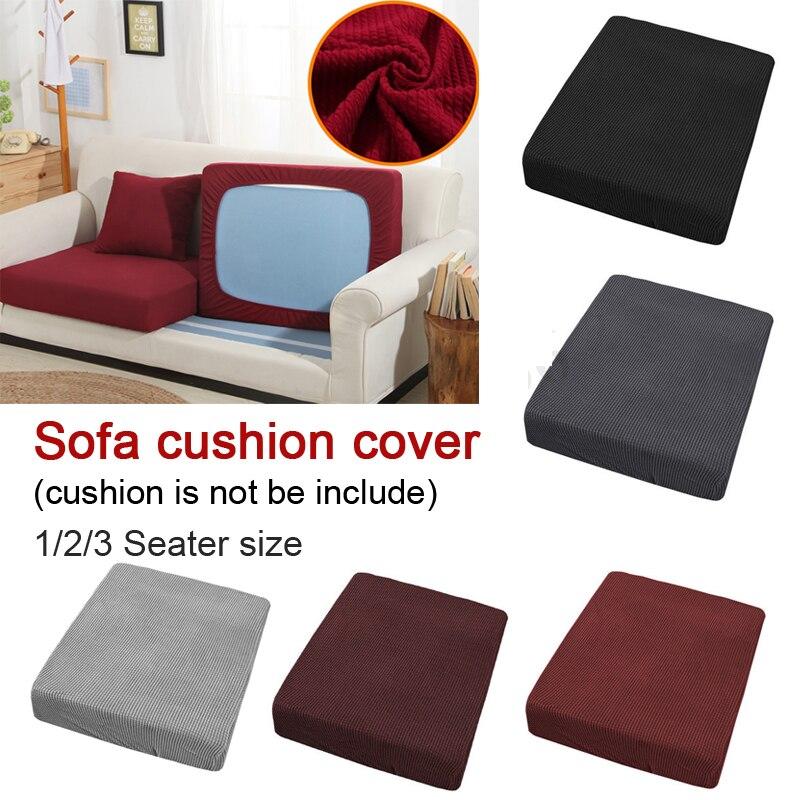 Jacquard Polyester Spandex Cushion Cover Fabric Slip