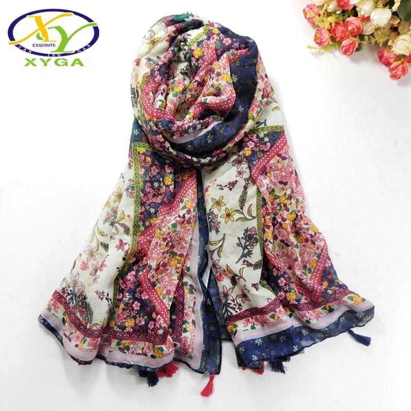 1PC Cotton   Scarves   Spring Soft Women Long Tassels ShawlsThin Summer Lady Acrylic   Wraps   Female Autumn Muslim Head   Scarf   Hot Sale