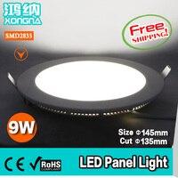 Il trasporto Libero 9 W Pannello LED Si Illumina 45 LED SMD3014 100 ~ 110 lm/W Bianco caldo o Bianco Freddo CE & RoHS 2 Anni di Garanzia