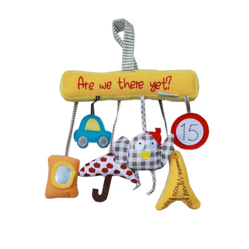 Babybett Spirale Aktivität Hängende Dekoration Kleinkinder Rassel spielen Spielzeug Autositz Kinderwagen Weihnachtsgeschenke