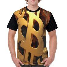 Gold Bitcoin 3D T-shirt