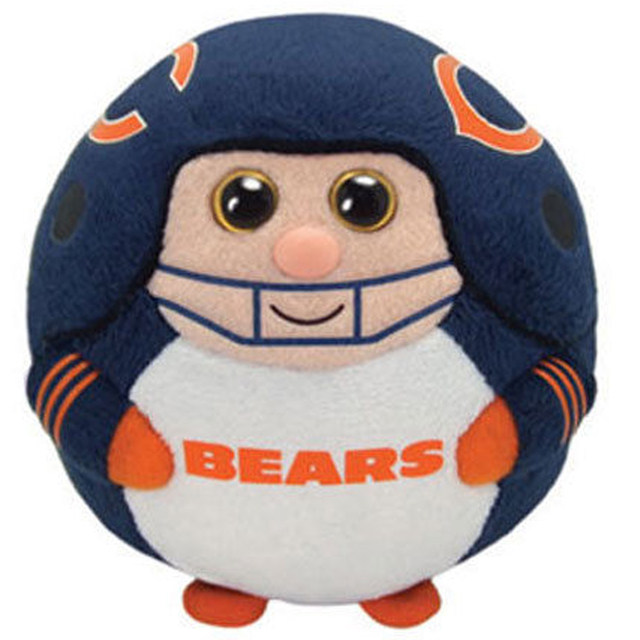 Online Shop Pyoopeo Ty Beanie Ballz 5 12cm Chicago Bears Football  hot sale