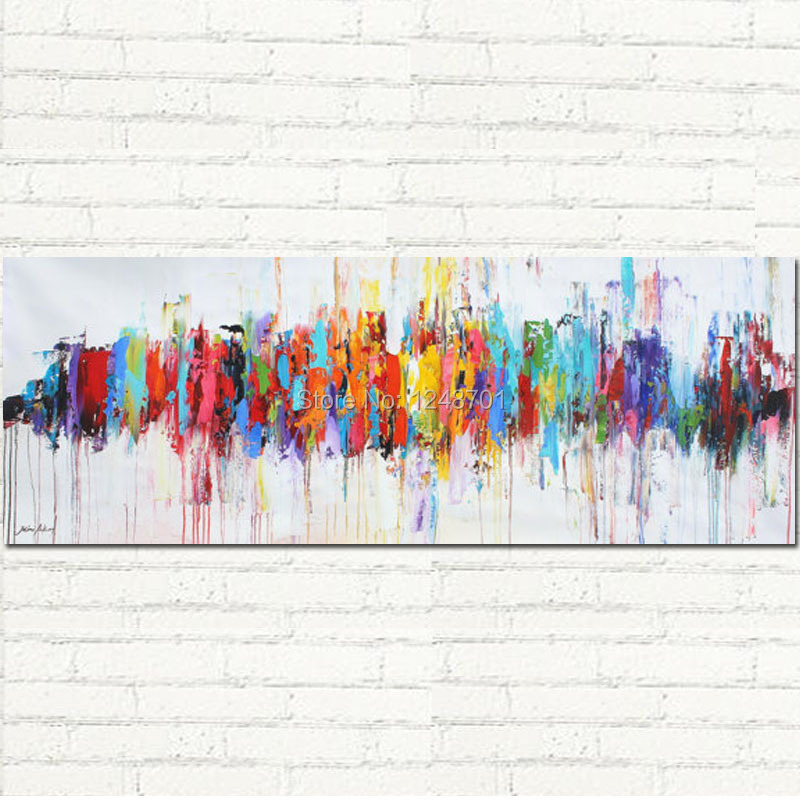Aliexpress.com : Buy Modern Abstract Oil Paintings On Canvas ...
