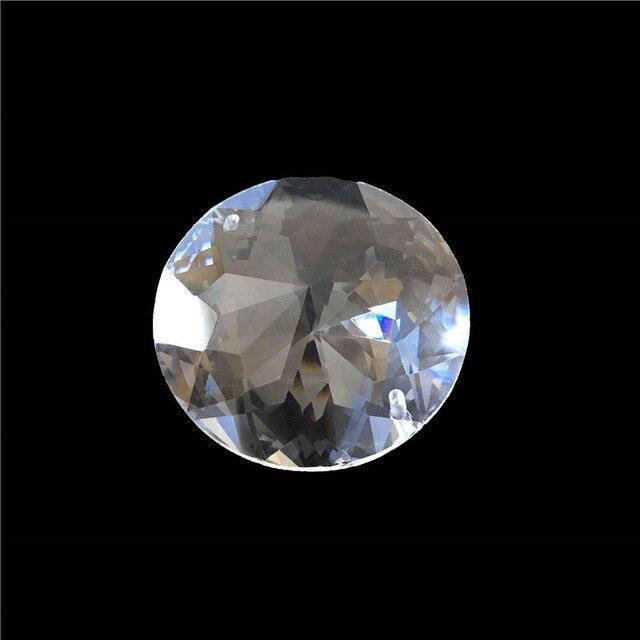 100 יח\חבילה, 30 MM עגול פנינה פרח קריסטל Loose חרוזים, חומר עבור זרי גביש/גדיל, חתונה/עוגת דקור, Freeshipping