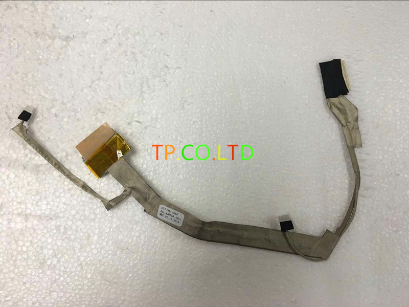 """BRAND New LCD Cable For HP G60 COMPAQ CQ60 G60 LAPTOP 15.6"""" LCD  CABLE 50.4AH18.001  screen cable"""