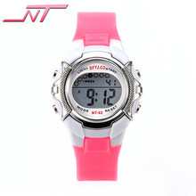 Hot Sale Colorful Watch For Kids Students Time Electronic Digital Wrist Sport