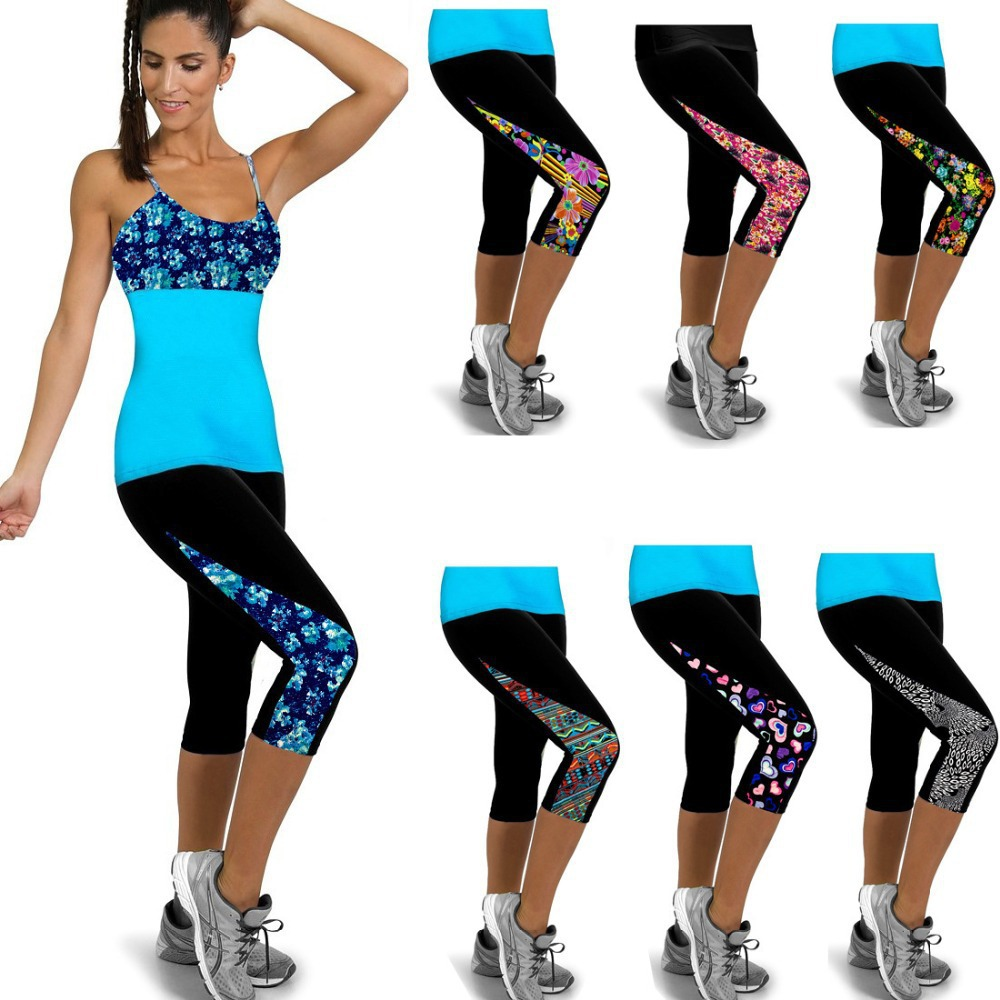 Nueva correr mujeres deportes entrenamiento leggings fitness jpg 1000x1000 Ropa  para hacer deportes e71eae73e633