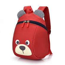 Boys and girls backpack cute cartoon kindergarten han edition fashion anti lost leisure bag during the satchel