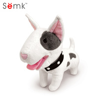 Semk Dog Plush Toy Bulldog Bull Terrier Shepherd Soft Stuffed Dolls For Children Kits Toys Great