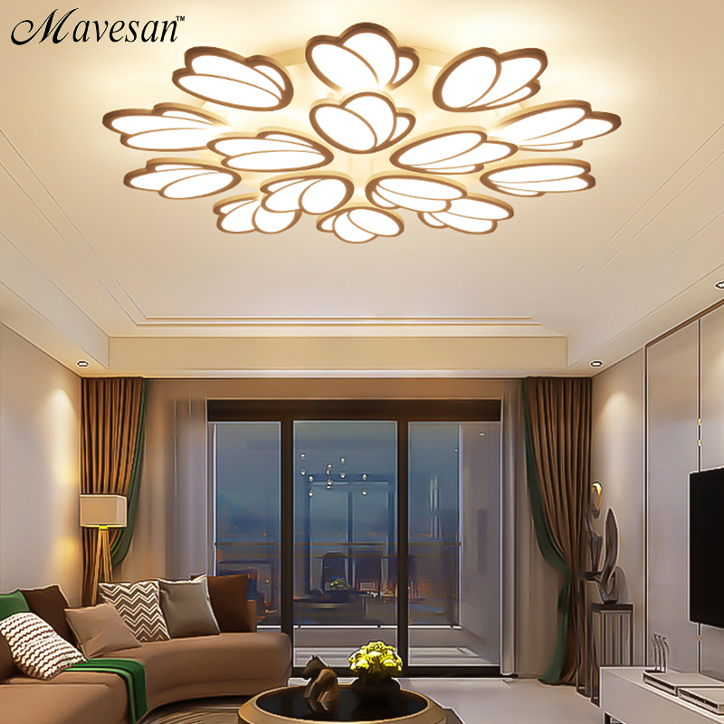 Modern acrylic LED Ceiling Lights for Living Room Ultrathin ceiling lamp Decorative lampshade Lamparas de techo kids room dimming led ceiling lights post modern style for living room study room decorative lampshade ceiling lamp lamparas de techo