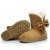 Invierno de las mujeres sólidas botas de nieve de moda femenina botines con piel caliente mujer bota zapatos casuales botas femininas SOT905