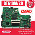 K55VD Motherboard REV:3.1/3.0 GT610M/2GB For ASUS K55V A55V R500V laptop Motherboard K55VD Mainboard K55VD Motherboard test 100%