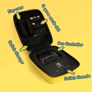 Image 3 - Nintend מתג מקרה אביזרי גדול קיבולת נייד EVA קשה תיק נסיעות נשיאה אחסון תיק פאוץ NS תיק מסוף מתג