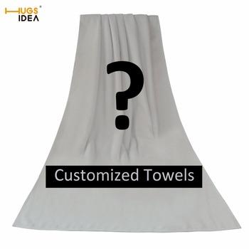 HUGSIDEA dostosowany ręcznik plażowy tkanina podróżna z mikrofibry szybkie suszenie na zewnątrz sport pływanie Camping kąpiel joga mata koc siłownia tanie i dobre opinie Poliester bawełna HANDMADE Można prać w pralce Sprężone Quick-dry Z30+Z31 Dobby Ręcznik kąpielowy 300g Drukowane