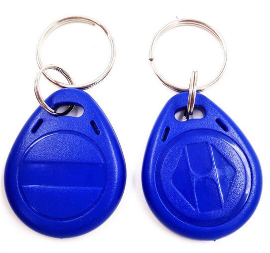RFID EM4305 Keyfobs 125khz Rewritable Copy Clone Key Tags Access Control Card min 100pcs