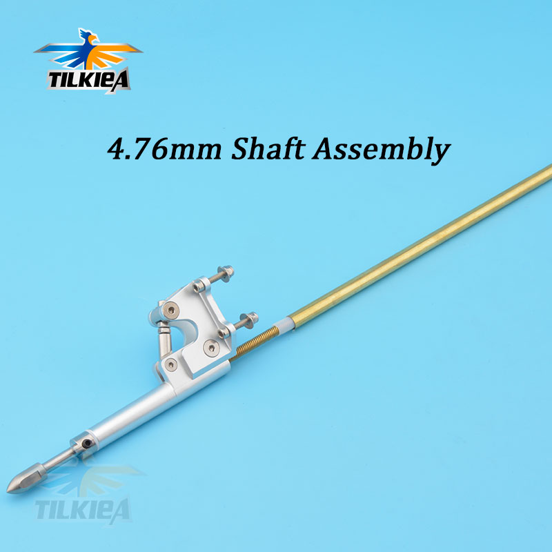 Left/Right 4.76mm 3/16'' Flex Cable Adjustable Stinger Drive Drive Dog Prop Nut Gasket Brass Tube Plastic Pipe 520mm For RC Boat-in Parts & Accessories from Toys & Hobbies    1