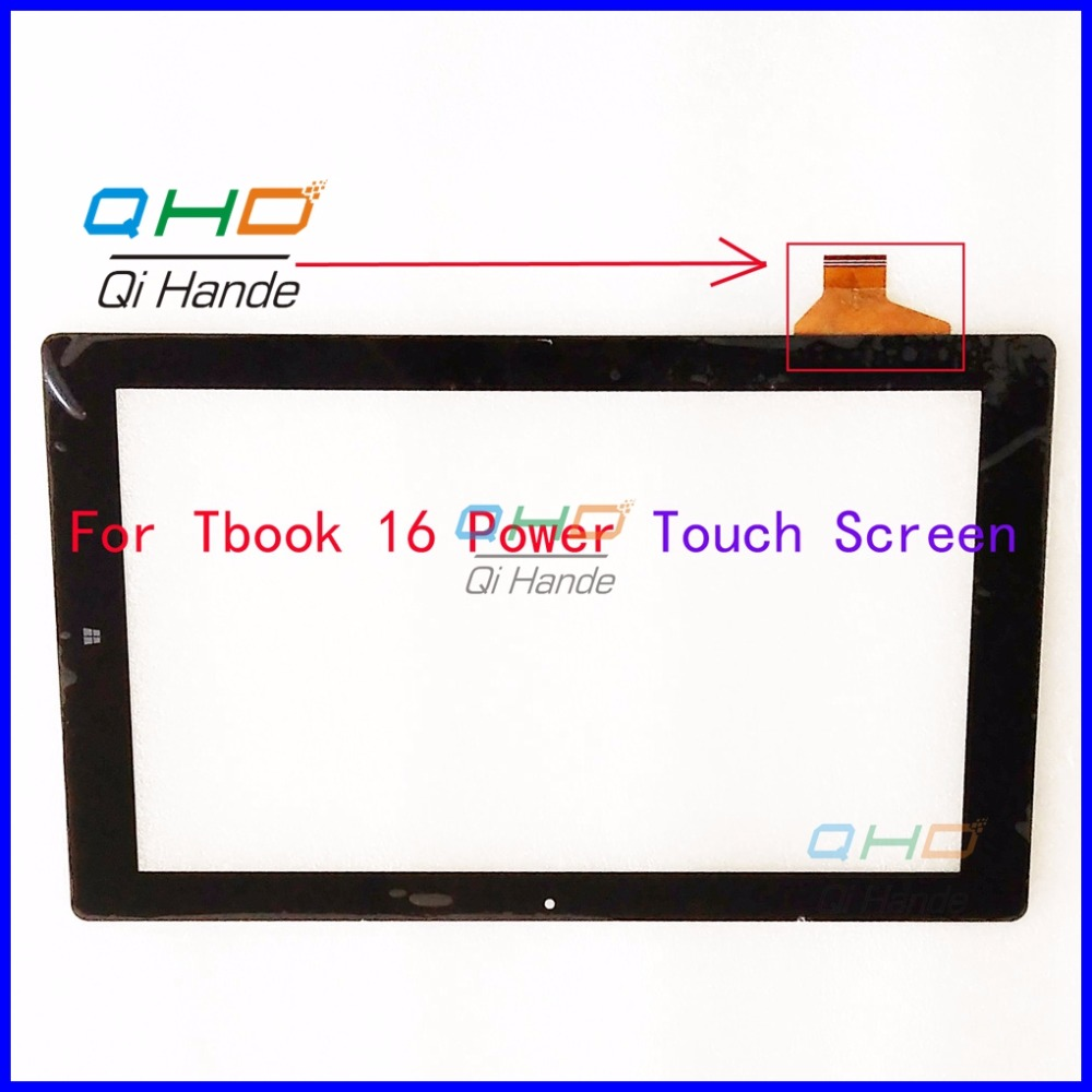 Black New Touch Screen Digitizer For 11.6'' inch Teclast Tbook 16 Power Tablet Touch panel sensor replacement Free Shipping 7 for dexp ursus s170 tablet touch screen digitizer glass sensor panel replacement free shipping black w