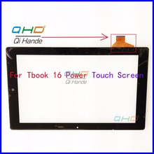 "Black New Touch Screen Digitizer For 11.6"" inch Teclast Tbook 16 Power Tablet Touch panel sensor replacement Free Shipping"