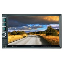 7901 7 дюймовый сенсорный экран многофункциональный плеер автомобиля mp5 плееры, BT hands free, FM радио MP3/MP4 плееры USB/AUX