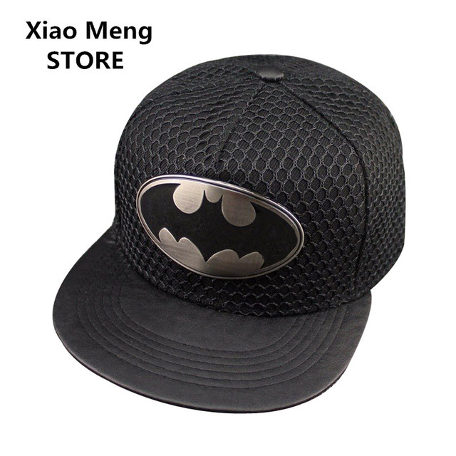 2018 Summer Adjustable Superman Batman Baseball Caps Gorras Planas For Men  Women Hip Hop Hat Outdoor Sports Sun Mesh Hats M110 ee1c5ebe2e8