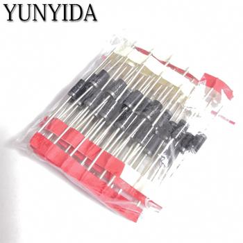 Zestaw 50 sztuk = 5values * 10 sztuk dioda schottky #8217 ego dioda wybrane elementy SR3100 SR3200 SR5100 SR5200 SR560 każdy 10 sztuk tanie i dobre opinie Przez otwór Dioda schottky ego YUNYIDA Nowy