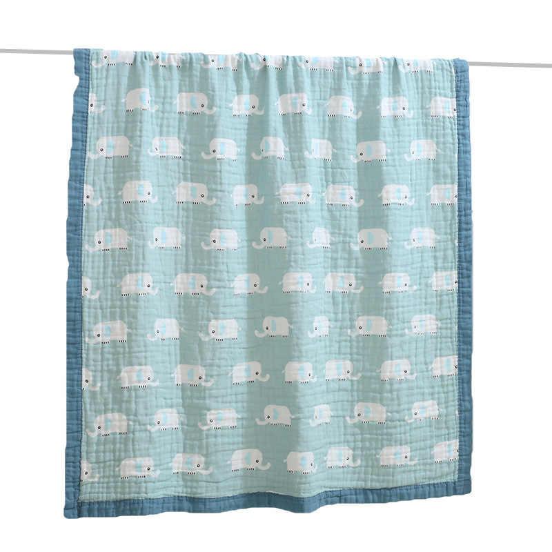 Do kąpieli dla dzieci wieszak na ręczniki, 120*150 CM bawełna sześć-warstwa mycia dla niemowląt lato fajne dziecko niemowlę dziecko koc