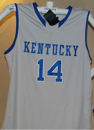 15afbf61197 14 Michael Kidd Gilchrist Kentucky Wildcats Basketball Jersey White ...