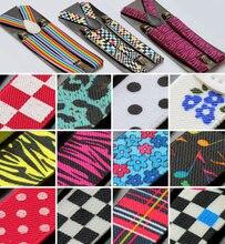 Clip-on Mens Braces Ladies Unisex Adjustable Braces Elastic Suspenders UX