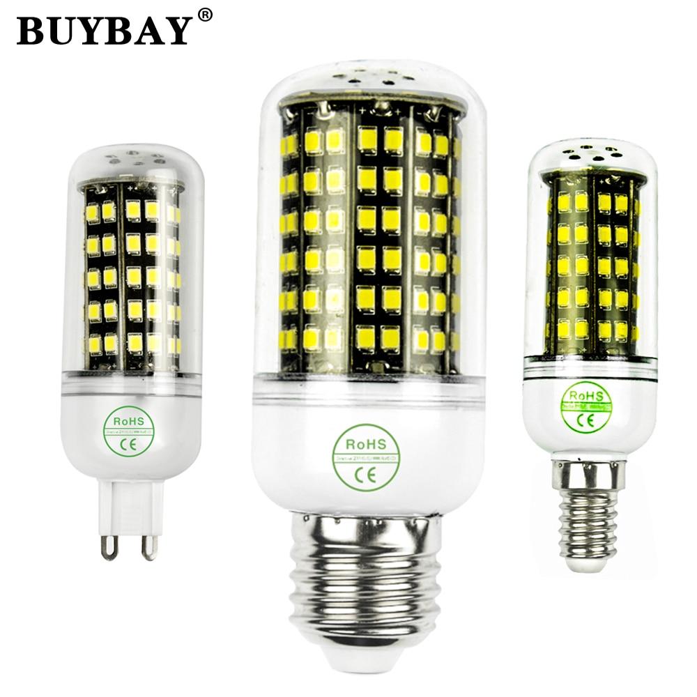 Lampada Led lamp E27 E14 B22 110~130V/220V 15W 20W 30W Epistar smd 2835 Solsr Corn Light Bulb ...