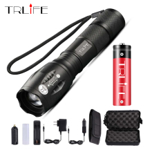 3800Lumens CREE XML L2 flashlight XML L2 torch Zoomable led Flashlight bike bicycle light +2* 18650 battery+charger trustfire tr j2 diving flashlight 1000 lm xml l2 4 mode led flashlight