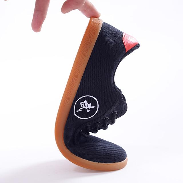 Парусиновая обувь спортивные туфли кунг-фу тайцзи/TaiChi школа обувь занятий искусств обувь