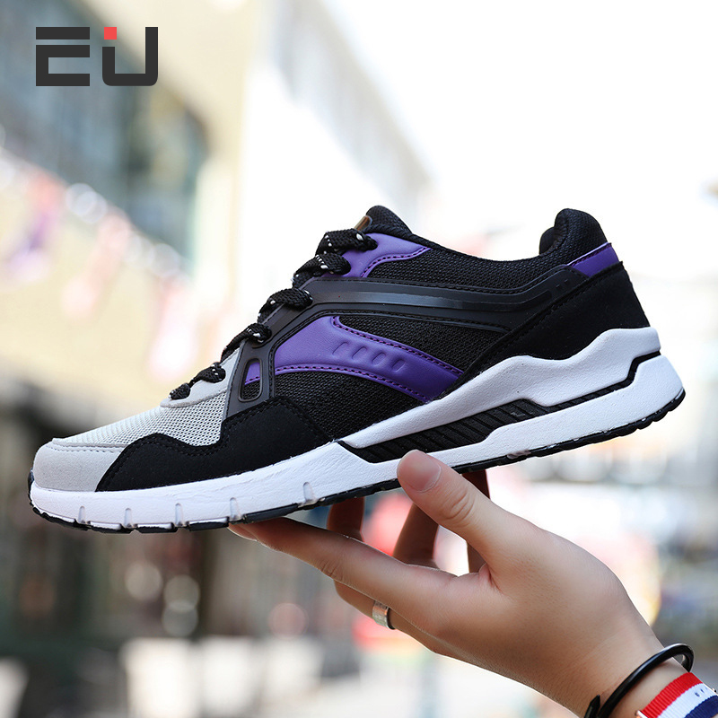 Hot Sale Big Size Breathable Mesh Running Shoes Men Outdoor Exercise Sports Shoes Men Trainer Shoes for Male