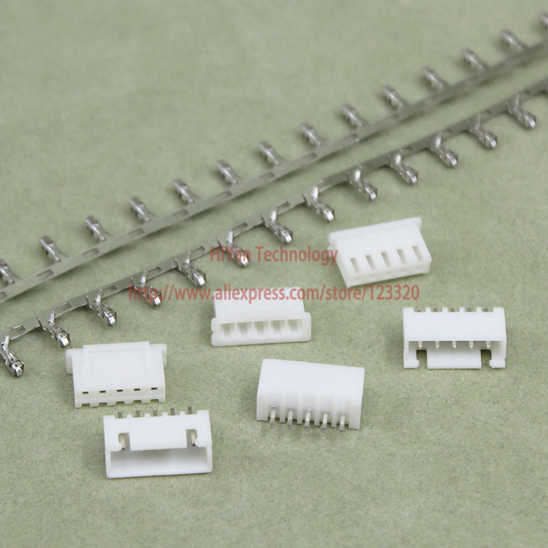 (100sets/lot) connector XH2.54 5Pin 180degrees Pitch:2.54MM/0.1inch Pin Header + Terminal + Housing XH2.54-5P