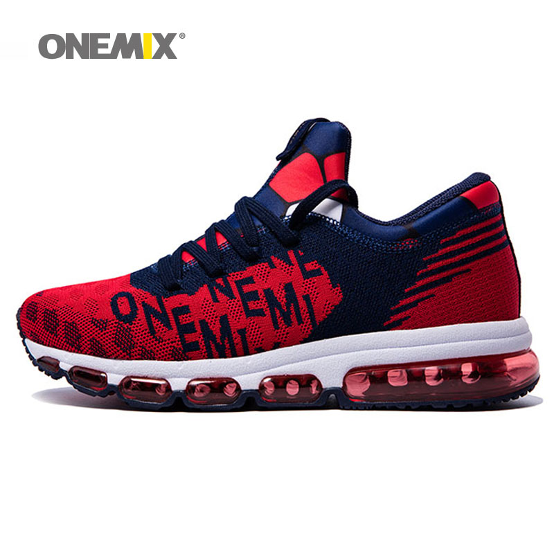 ONEMIX hommes femmes Couple sport coussin d'air chaussures course baskets fitness pour homme marche chaussures hommes max bigsize 36-46.TN