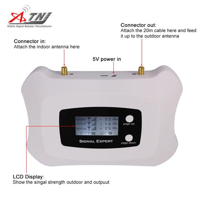 Smart 3G 1900mhz күшті 2G 3G мультимедиялық - Мобильді телефондарға арналған аксессуарлар мен бөлшектер - фото 3