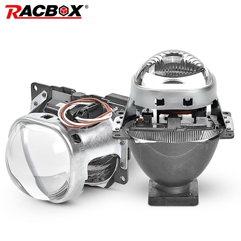 H7 Bi Xenon 3 0 inch HID Headlight Full Metal Q5 Projector Lens For Car Styling